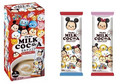 ディズニーツムツムのミルクココア