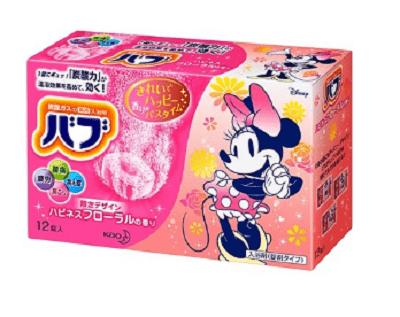 ディズニーキャラクター入浴剤