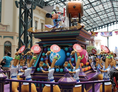ディズニー 夏祭り