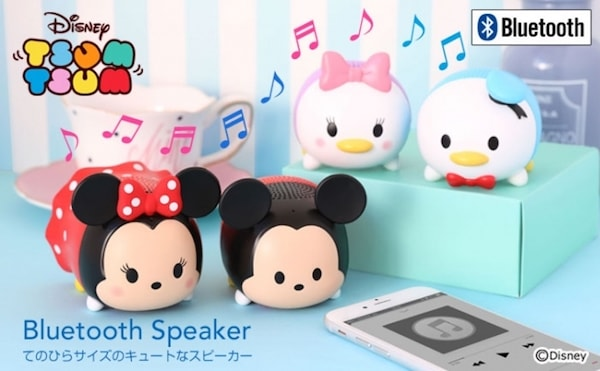 ディズニーツムツム スピーカー Bluetooth4.2