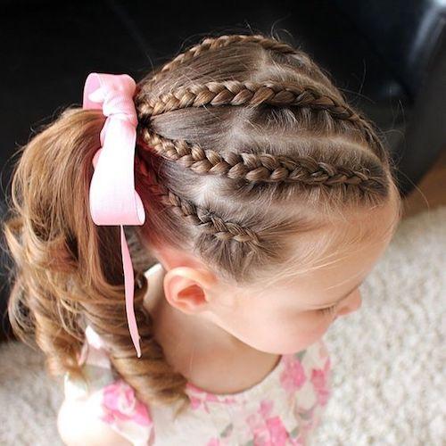 ママが簡単にできる「女の子のヘアスタイル」