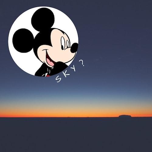 ディズニースカイ誕生?