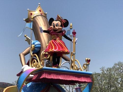 ディズニーで初めての「ショー」「パレード」