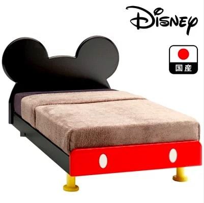 ミッキーマウスのシングルベッド(国産)口コミまとめ
